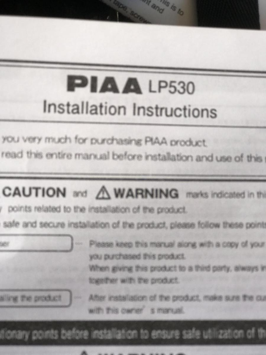 Piaa Wiring Diagram Free Picture Schematic